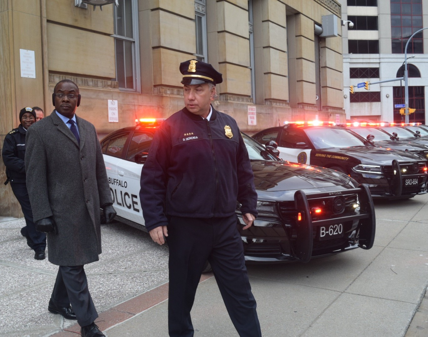 Buffalo PD Rolls Out Dodge Chargers