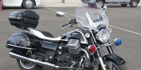 Police Moto Guzzi Motorcycles Arrive In U.S.