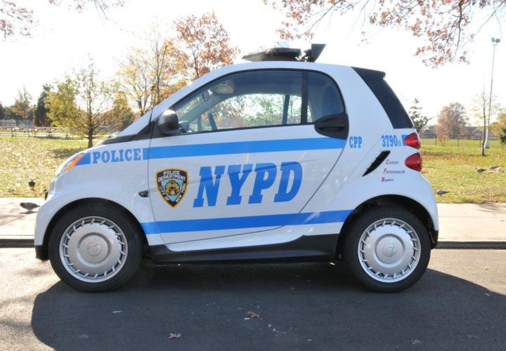 NYPD Replacing Scooter Fleet with Smart Cars