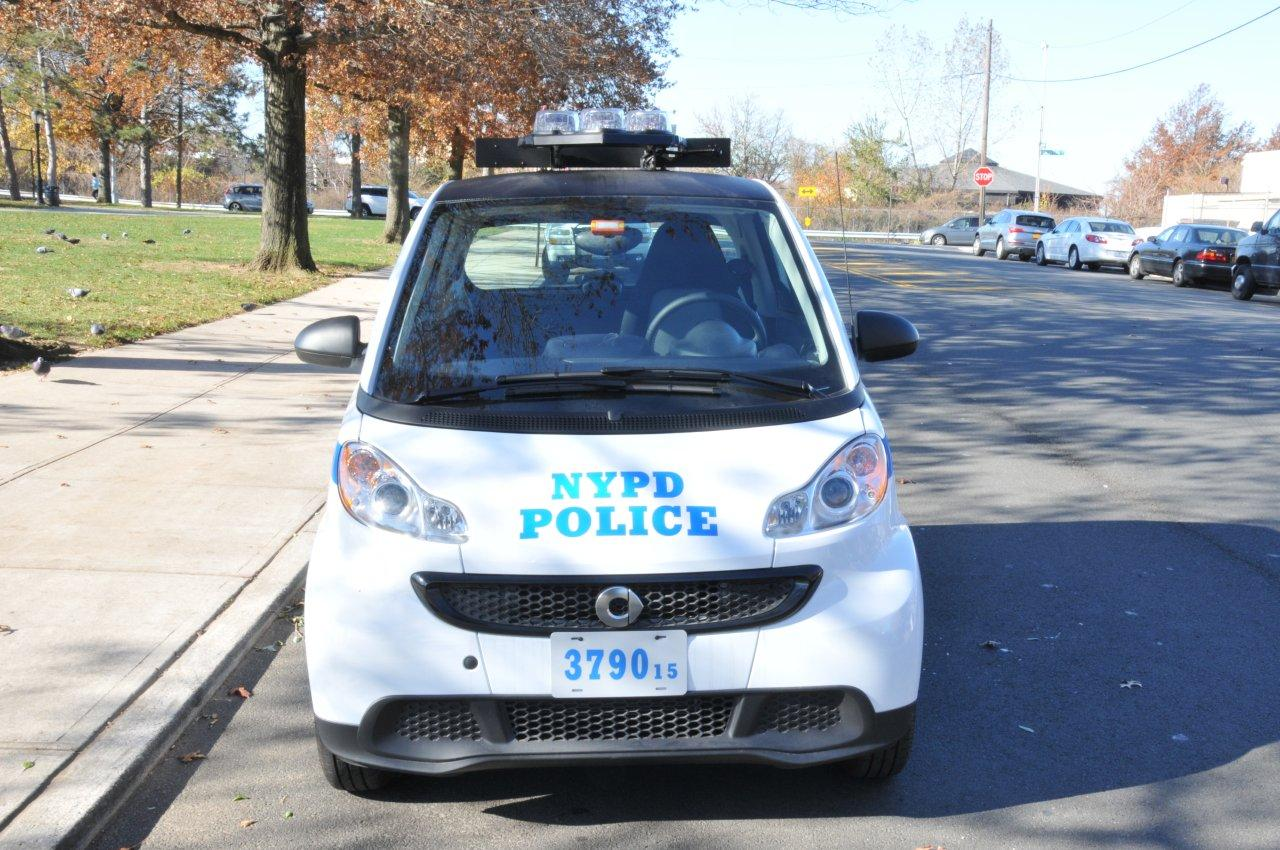 NYPD Prohibits Pursuits With Smart Cars