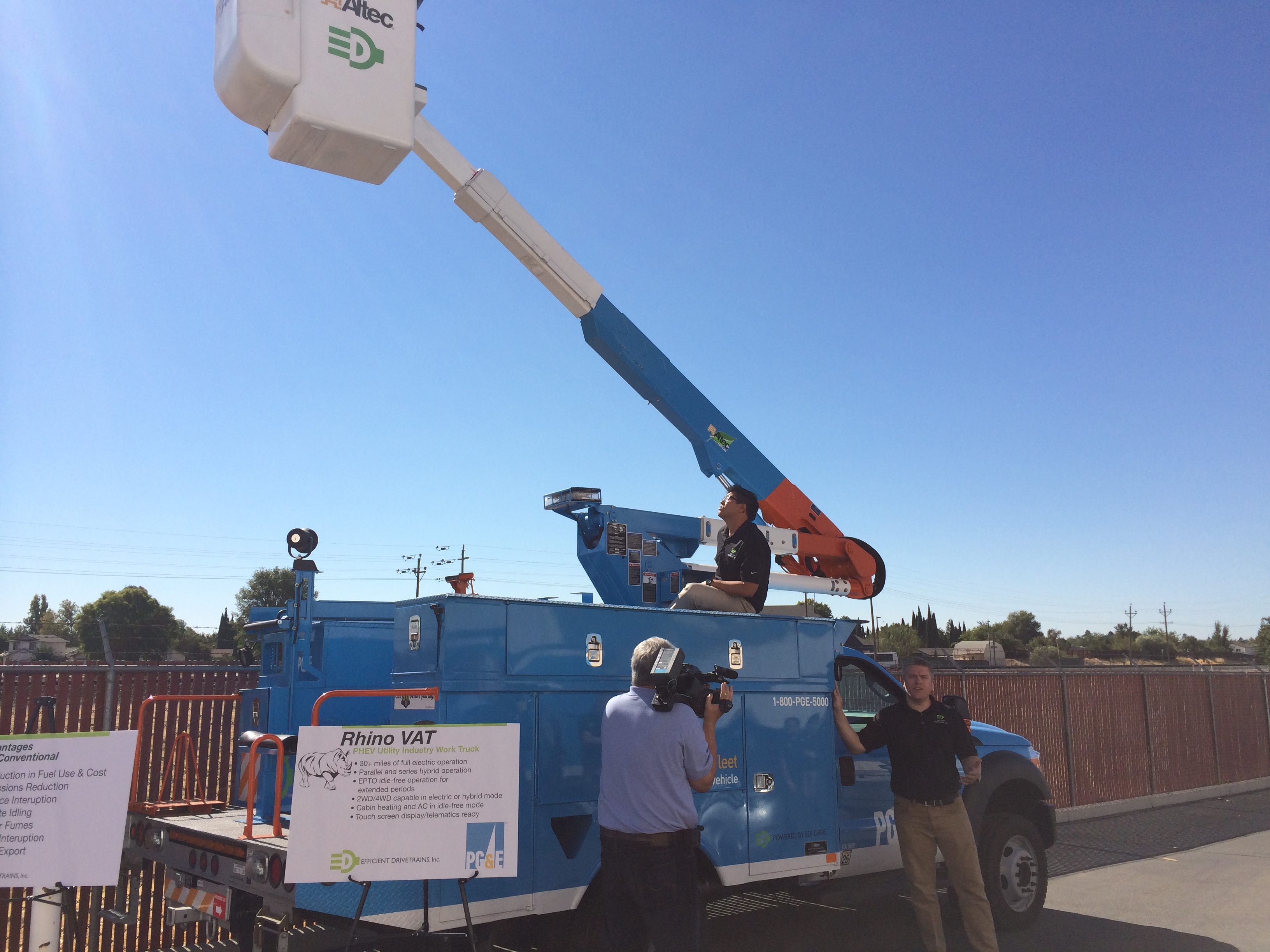 New Electric Utility Trucks Could Help Reduce Blackouts
