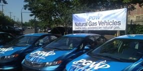 Philadelphia Gas Works Unveils New Natural Gas Vehicles