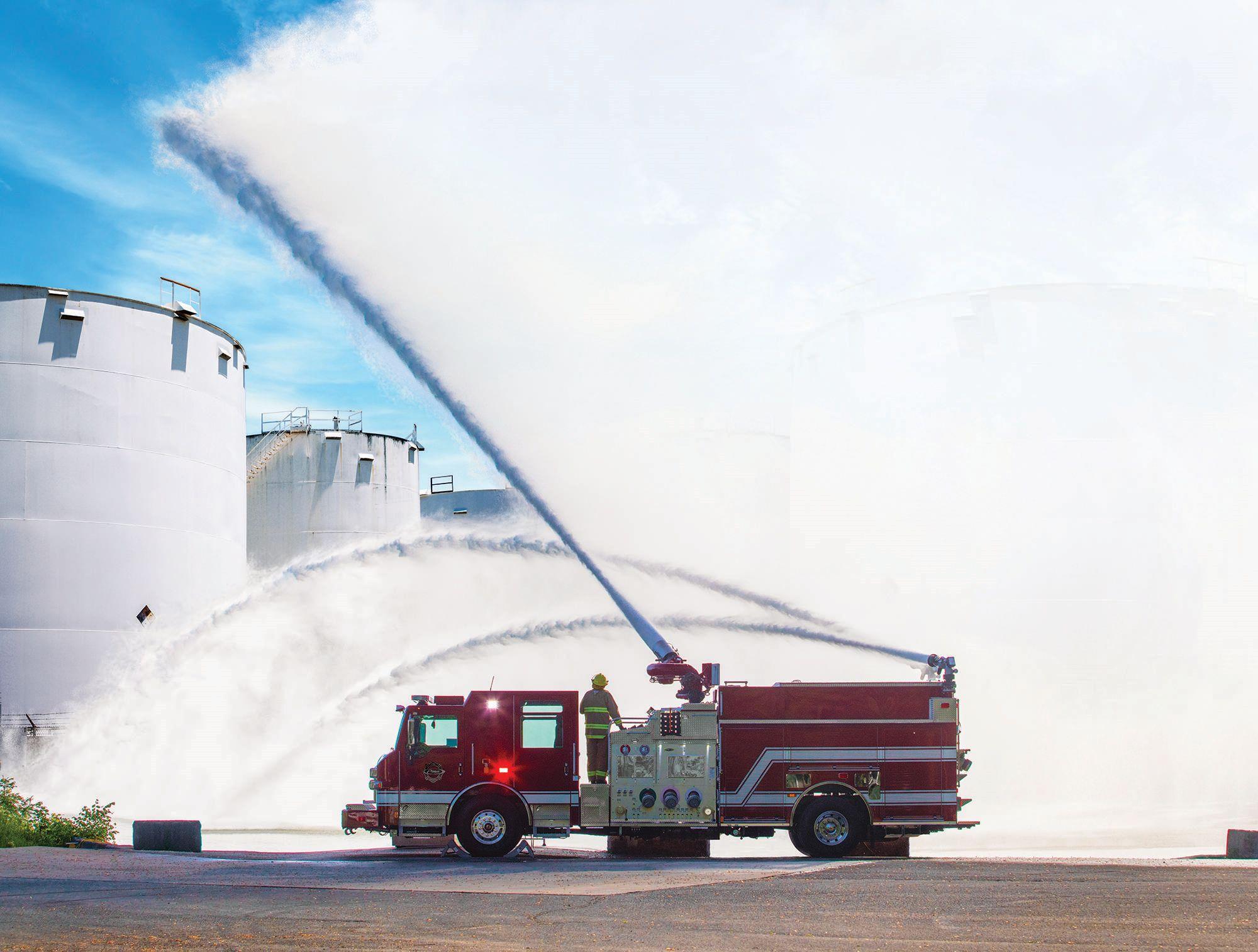 Pierce Introduces High Flow Fire Apparatus
