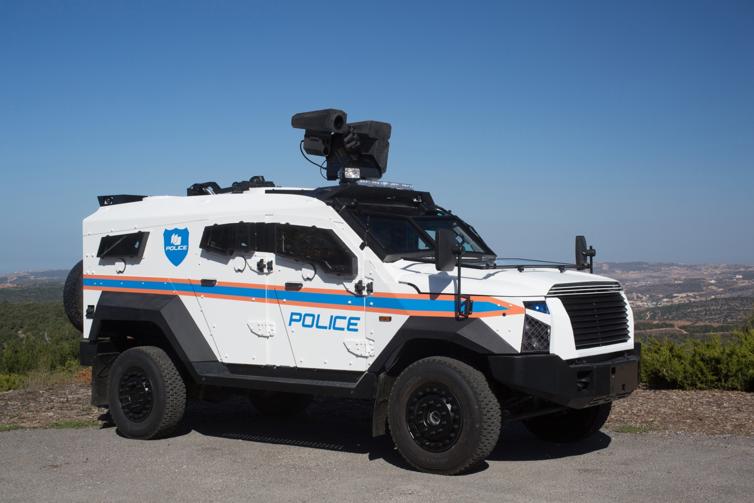 SandCat Stormer Armored SUV Designed to Fight Terror