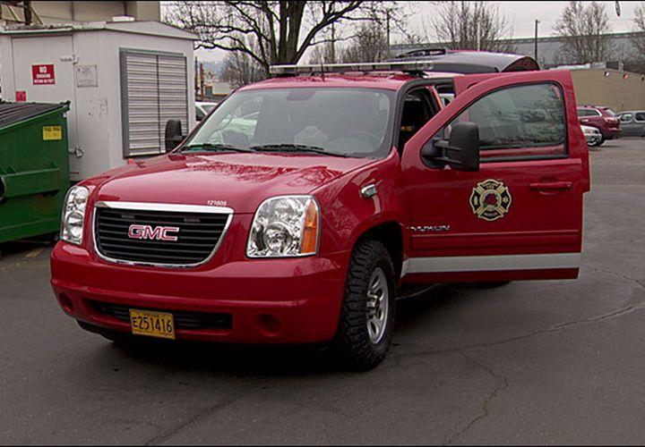 Portland Fire SUVs Keep Apparatus in Station