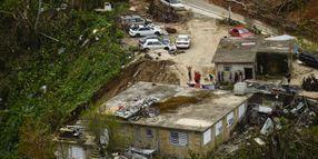 N.Y. Sends 220 Utility Trucks to Puerto Rico