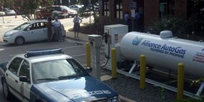 Raleigh Converts 10 Patrol Cars to Dual-Fuel Propane Systems