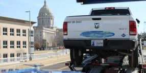 State of Oklahoma Takes Delivery of First of 242 Ram CNG Trucks