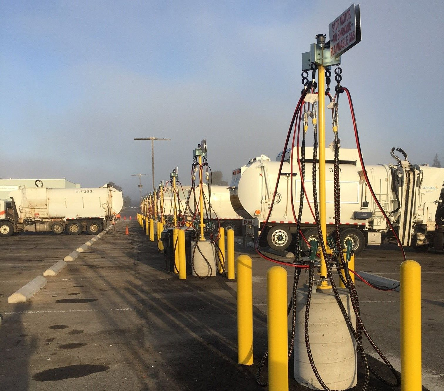 San Diego Expands CNG Fueling Facility