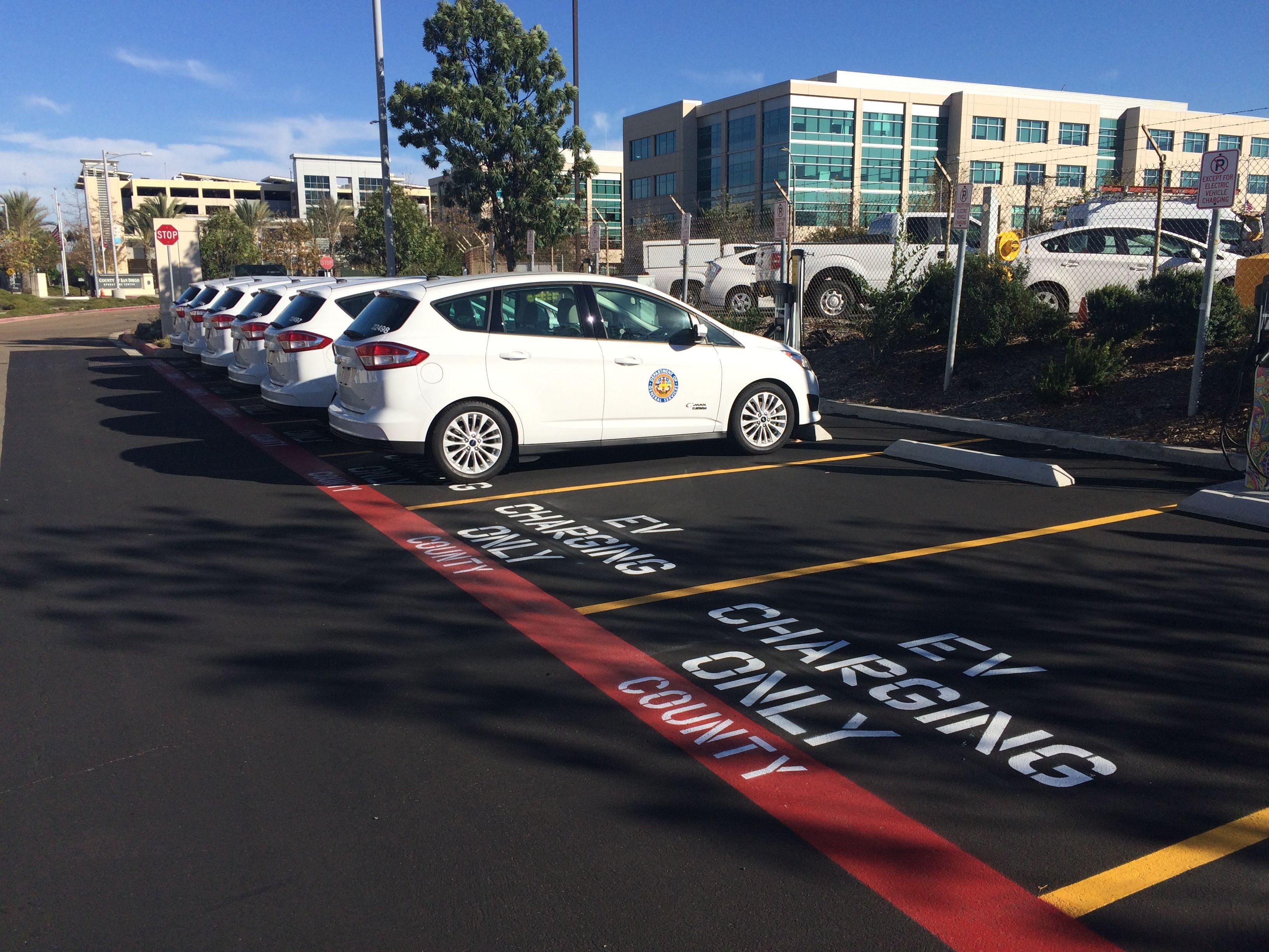 San Diego Opens EV Charging Sites, Plans 11 More