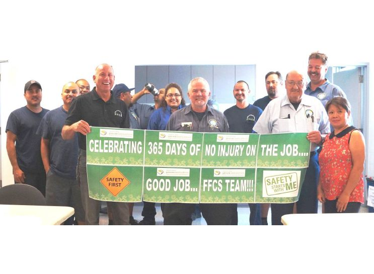 Santa Ana Celebrates 365 Days of Fleet Safety