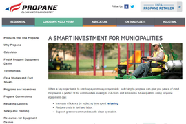 PERC Launches Online Propane Resource for Municipalities