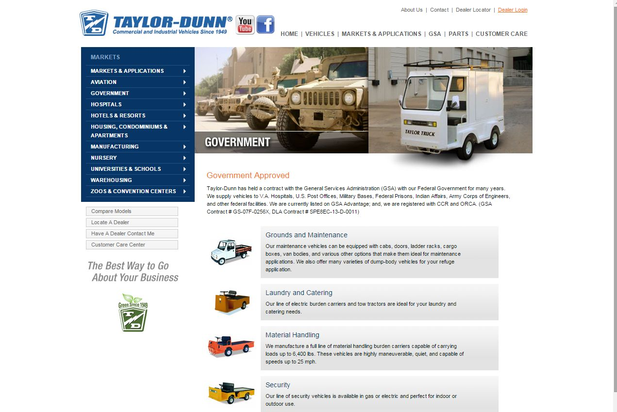 Polaris Acquires Industrial Vehicles Maker Taylor-Dunn