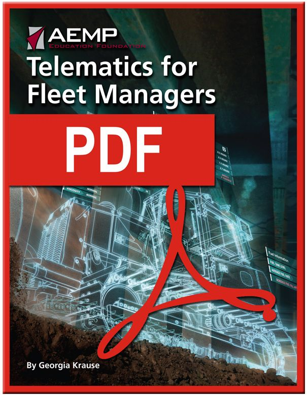 AEMP Releases New Text: Telematics for Fleet Managers