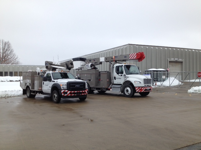 Northeast Utilities Prep Trucks for Winter Safety