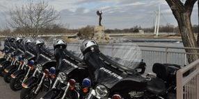 Wichita Police Relaunches Motor Unit