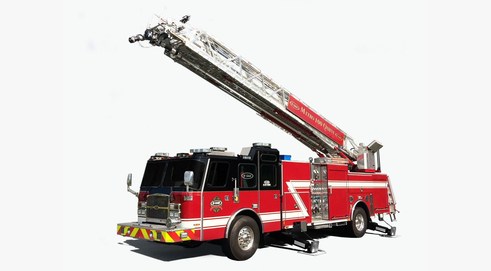 E-One Unveils New Aerial Ladder