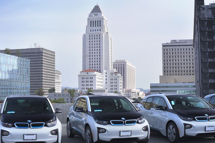 LAPD's Battery-Electric BMWs Appear Barely Used