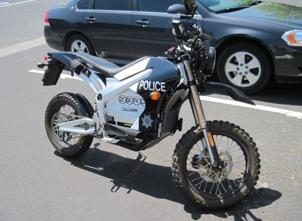 The Sebastopol PD designed a Code 3 electric police motorcycle from a unit from Zero Motorcycles.