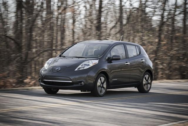 2013 Nissan Leaf. Photo courtesy of Nissan