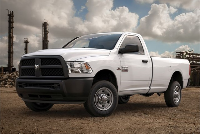 Photo of 2016 Ram 2500 Regular Cab diesel courtesy of FCA.