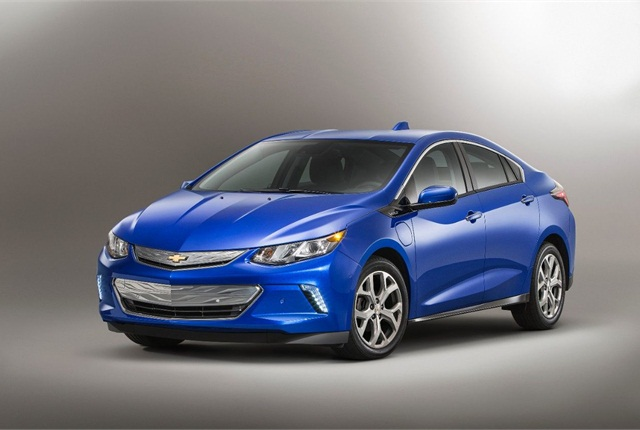 The deployment will include vehicles such as the Chevrolet Volt (pictured), Ford Fusion Energi, and Nissan Leaf. Photo courtesy of GM