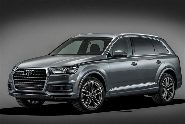 Photo of 2017 Q7 courtesy of Audi
