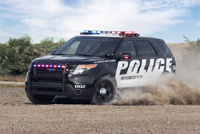 Ford plans to offer the EcoBoost V-6, used in the F-150, for its Police Interceptor Utility. Photo courtesy Ford.