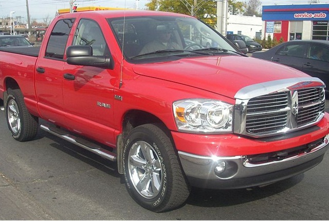 Photo of Dodge Ram 1500 pickup truck by Bull-Doser via Wikimedia Commons.
