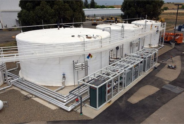 The Sacramento BioDigester converts food wate into renewable energy. Photo courtesy of Atlas Disposal.
