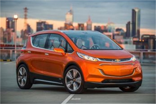 Photo of Bolt EV courtesy of GM.