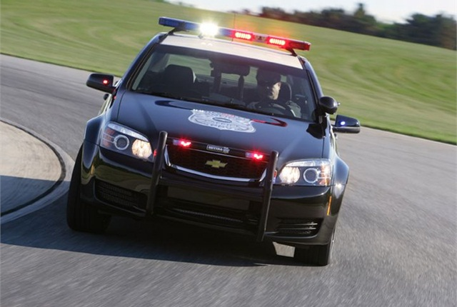 Photo of Chevrolet Caprice PPV courtesy of GM.