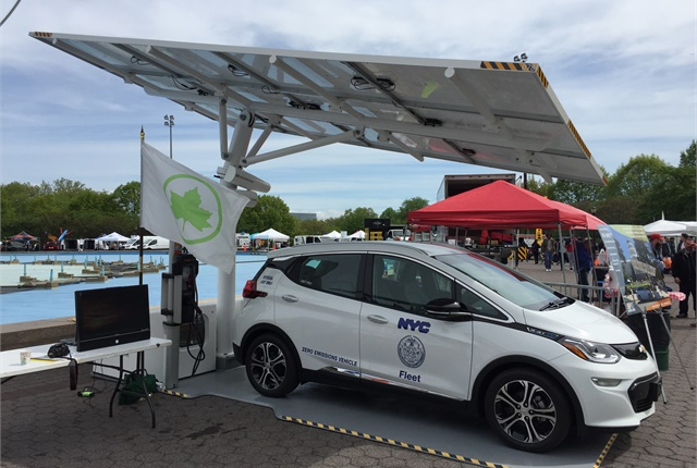In June, New York City ordered thirty-two EV ARC units, valued at $2.14M— Envision's largest order. Photo courtesy of Envision Solar.