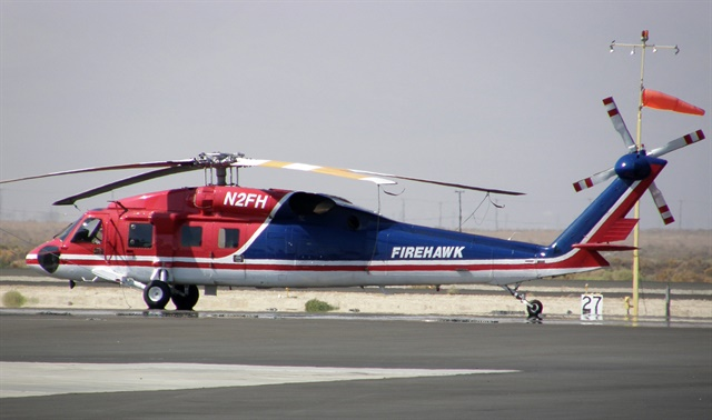 San Diego City Council approved the purchase of a $19.8 million Firehawk for the city's fire-rescue department. Photo viaAkradecki/Wikimedia