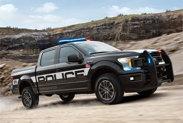 Ford F-150 Police Responder. Photo courtesy of Ford