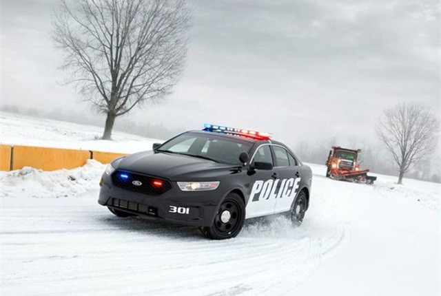 Photo of Police Interceptor sedan courtesy of Ford.