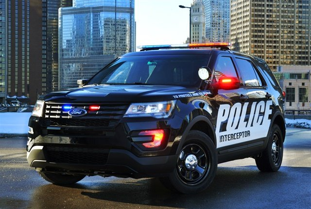 Photo of Police Interceptor Utility courtesy of Ford.