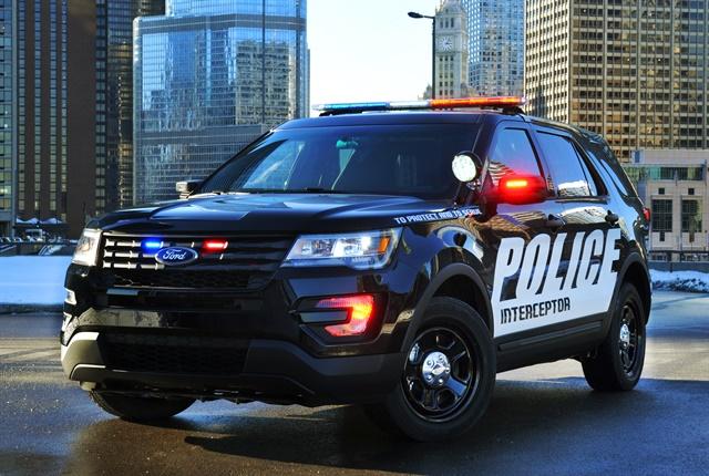 Photo of Police Interceptor Utility courtesy of Ford.