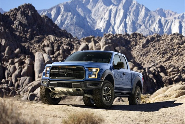Photo of 2017 F-150 Raptor courtesy of Ford.