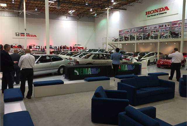 MEMA hosted its bi-monthly meeting at hte Honda Museum in Torrance, Calif. Photo courtesy of MEMA