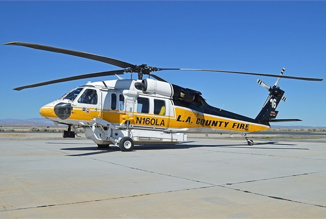 The Fire Department already owns three Firehawk helicopters. Photo via Wikimedia/Alan Wilson