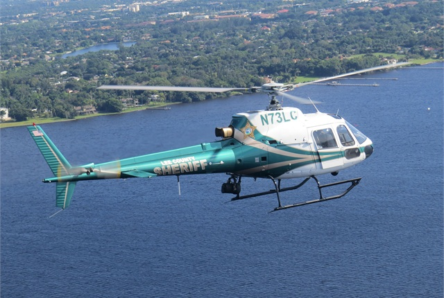 Lee County now operates two earlier-model AStars like the one shown here. Photo courtesy of Airbus Helicopters