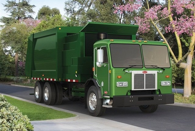 Photo of Peterbilt 320 courtesy of Peterbilt.