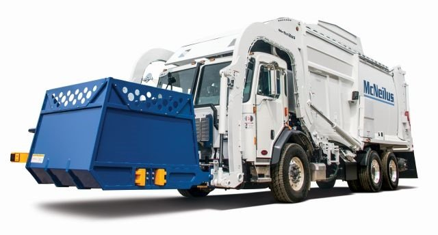 : McNeilus has announced that it is now the exclusive distributor of Perkins automated containers, offering customers another option for residential front loader collection routes. (PHOTO: McNeilus)