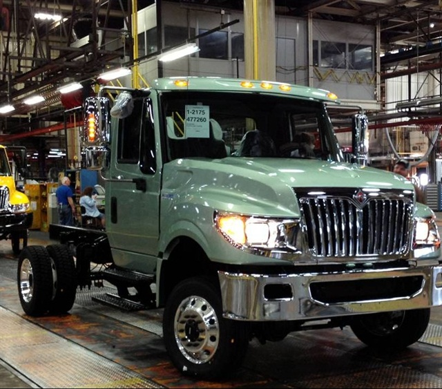 Navistar's International TerraStar 4x4.