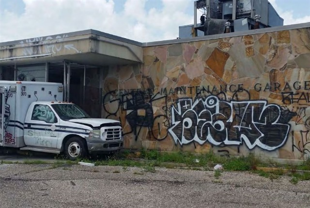 The City's Central Maintenance Garage. Photo via New Orleans OIG.