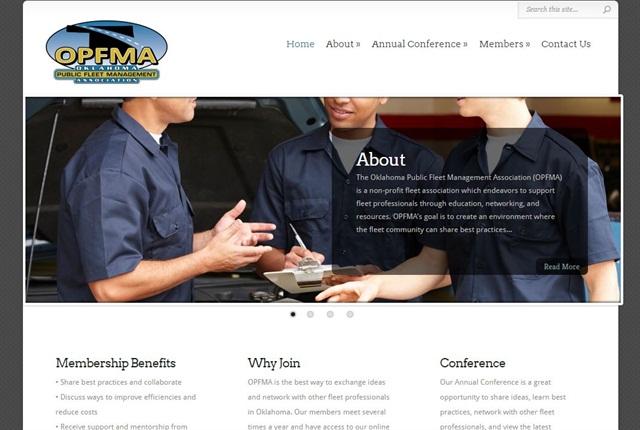 Screencapture of www.OPFMA.net