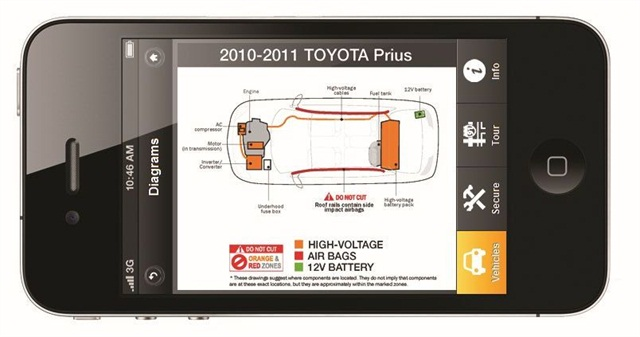 QRG screencapture of a diagram
