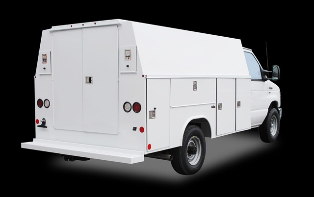 The all-new Reading Ready Van SL comes enhanced organizational, safety, and security features, according to Reading Truck Body.