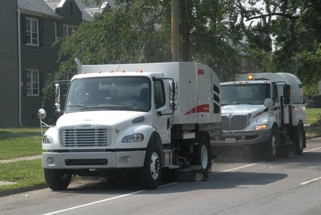 The City of Richmond's fleet consists of 2,622 units. Photo courtesy of City of Richmond.